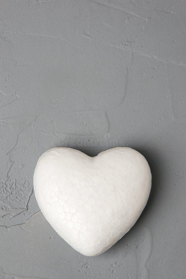 Corazón blanco imagenes de archivo
