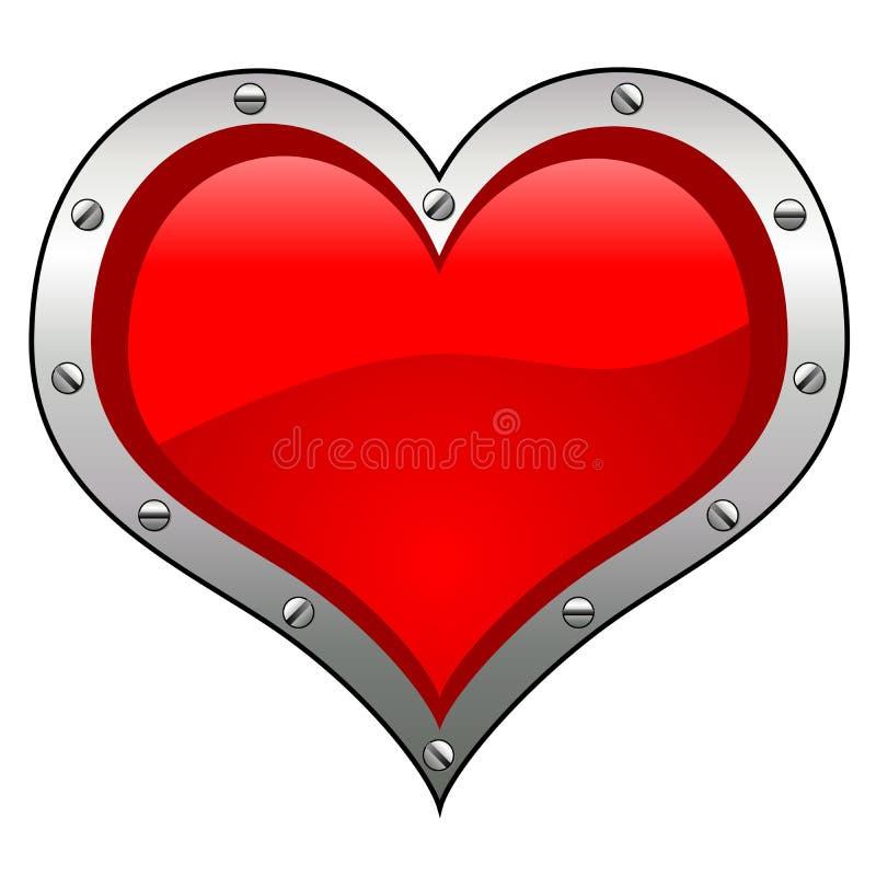 Corazón conceptual ilustración del vector