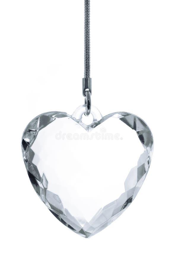 Corazón cristalino fotos de archivo