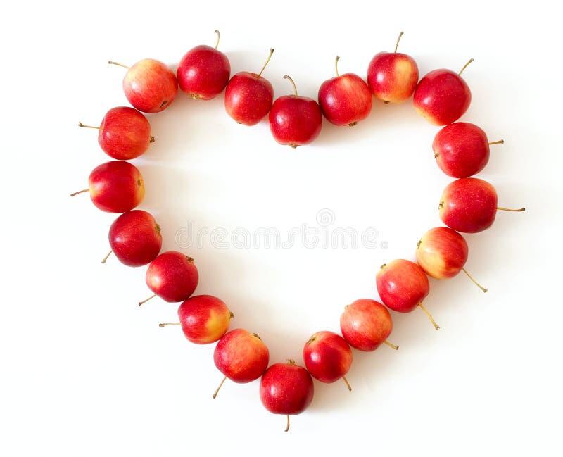 Corazón de Apple fotos de archivo