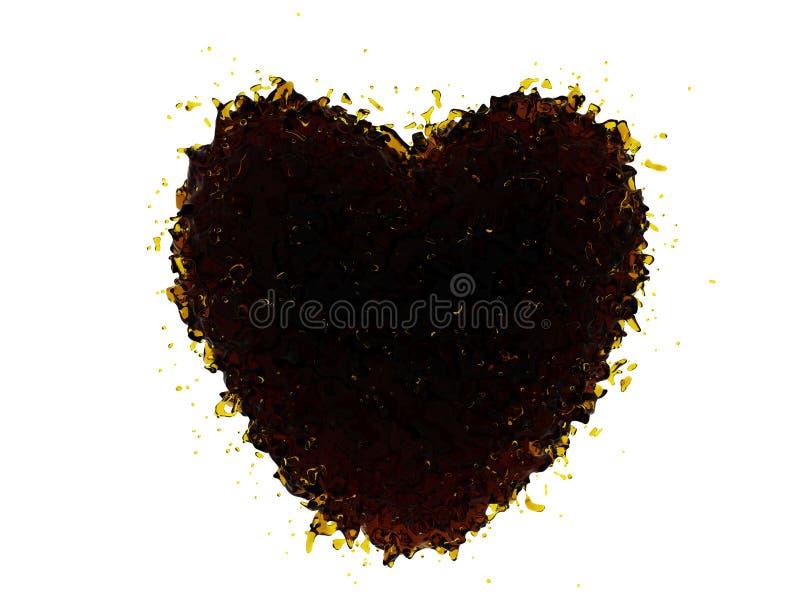 Corazón de la Coca-Cola libre illustration