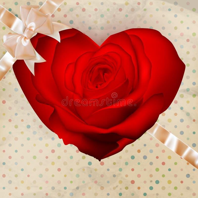 Corazón de la flor EPS 10 libre illustration