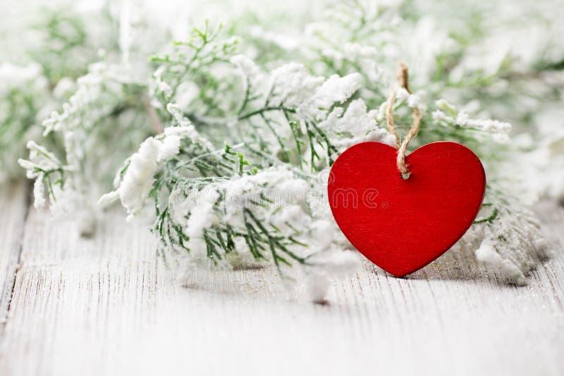 Corazón de la Navidad. imágenes de archivo libres de regalías
