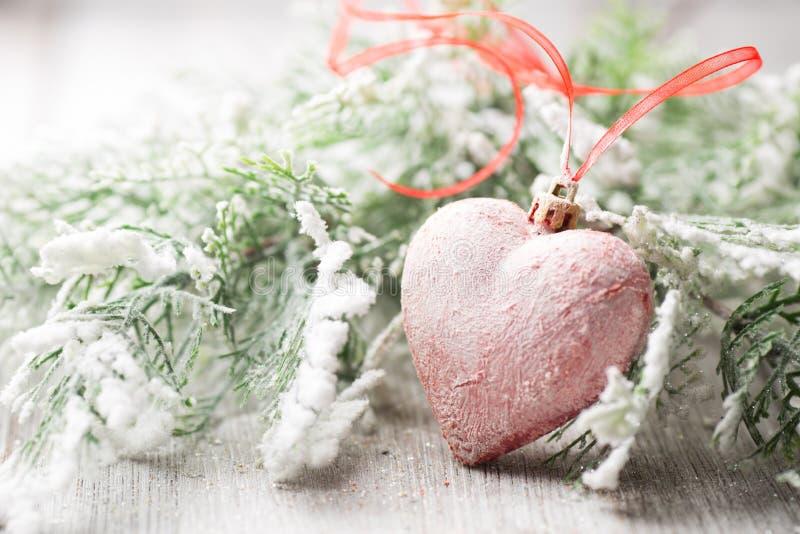 Corazón de la Navidad. foto de archivo libre de regalías