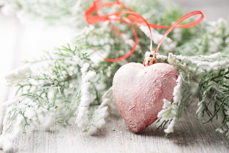 Corazón de la Navidad fotos de archivo libres de regalías