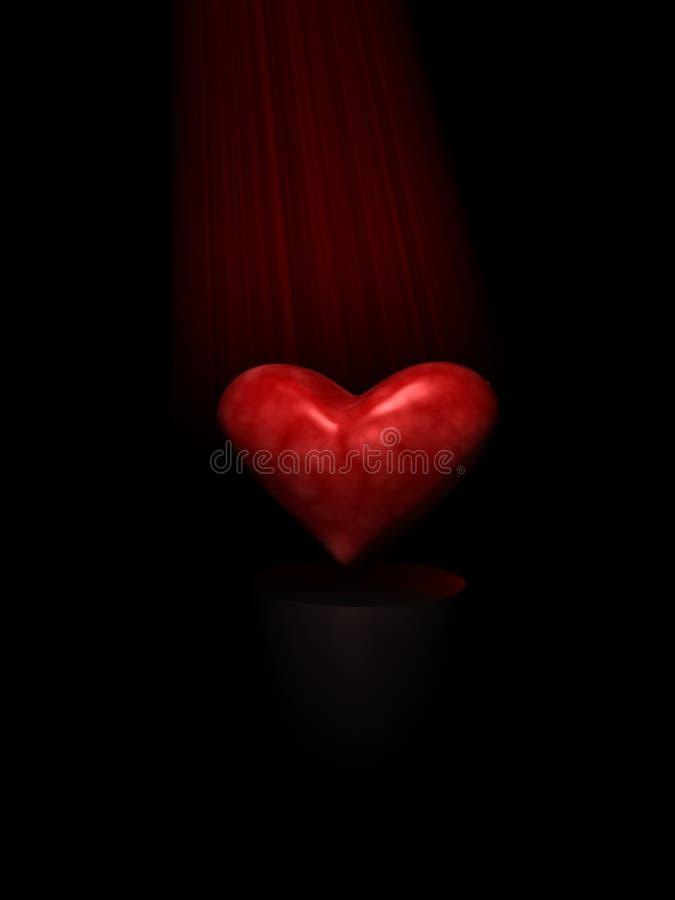 Corazón de la oscuridad fotos de archivo libres de regalías