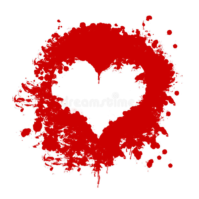 Corazón de la sangre libre illustration