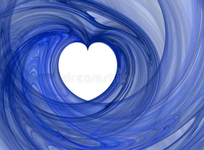 Corazón de la tarjeta del día de San Valentín libre illustration