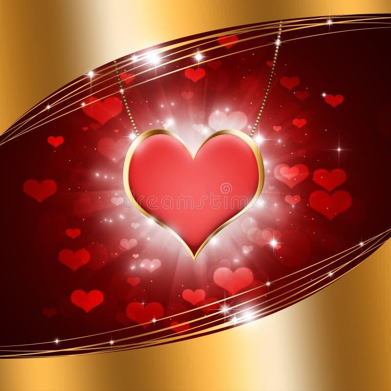 Corazón de oro libre illustration