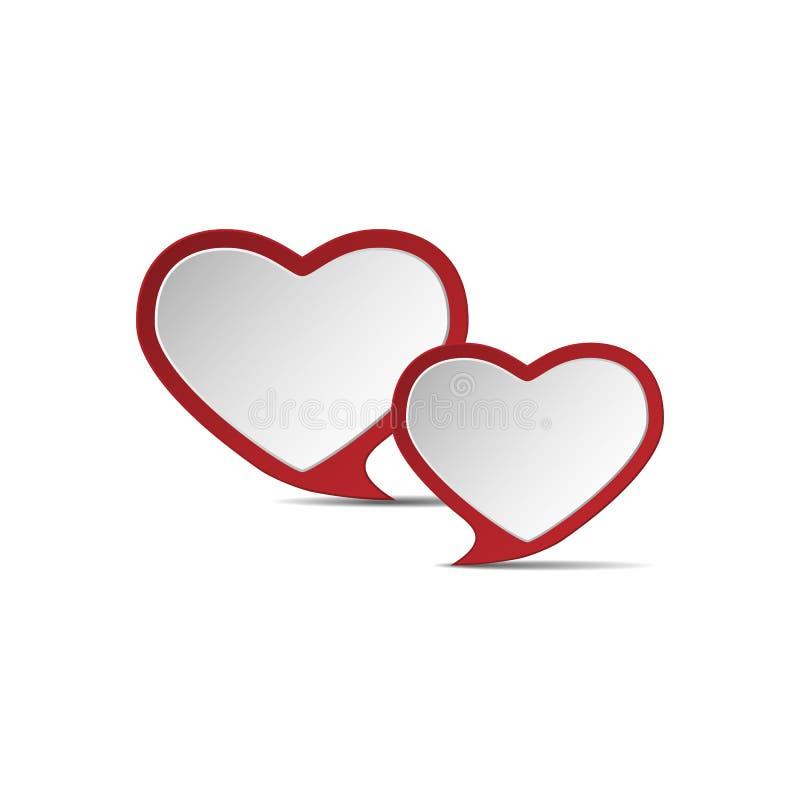 Corazón del amor .eps10 imagen de archivo