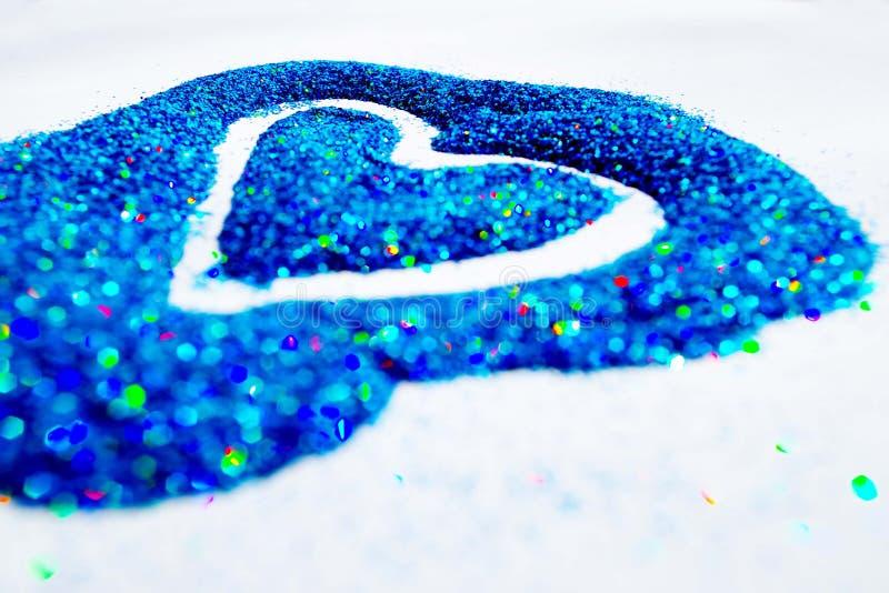 Corazón 1 del brillo imágenes de archivo libres de regalías