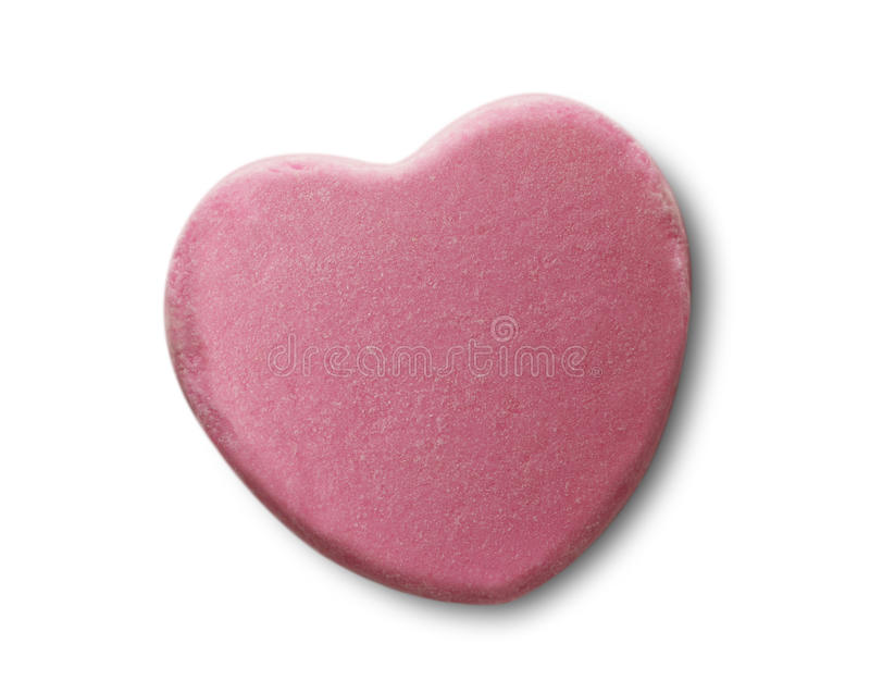 Corazón del caramelo foto de archivo libre de regalías