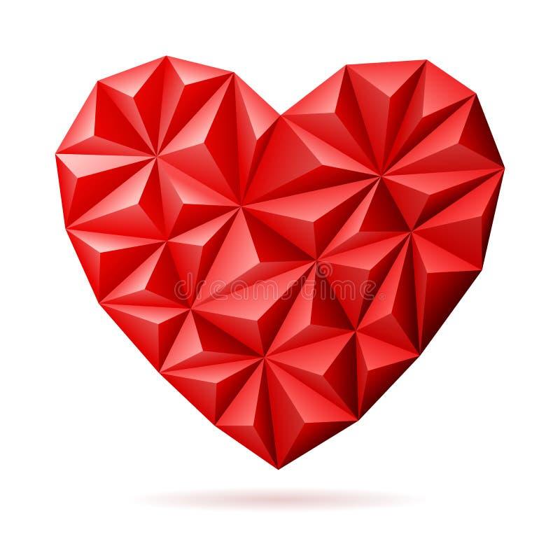 Corazón del día de tarjetas del día de San Valentín libre illustration