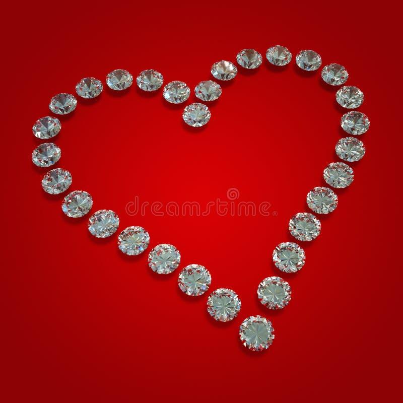 Corazón del diamante libre illustration