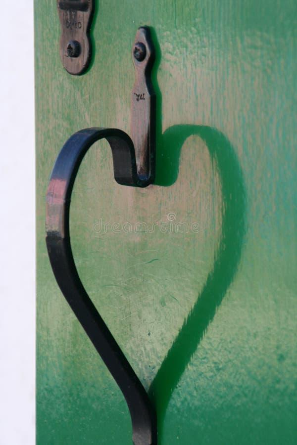 Corazón del hierro foto de archivo libre de regalías