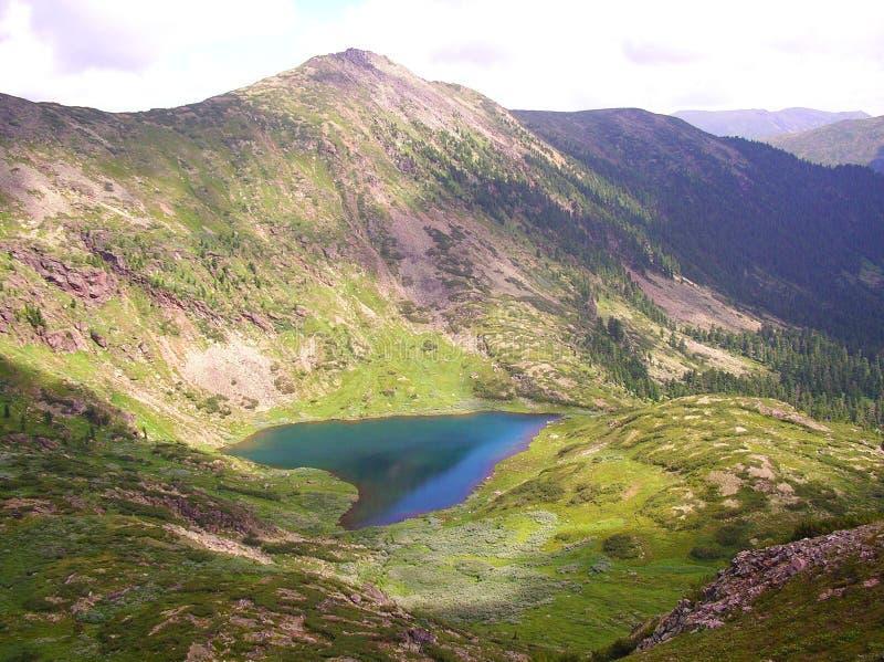 Corazón del lago imagen de archivo libre de regalías
