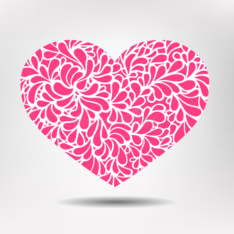 Corazón del modelo libre illustration