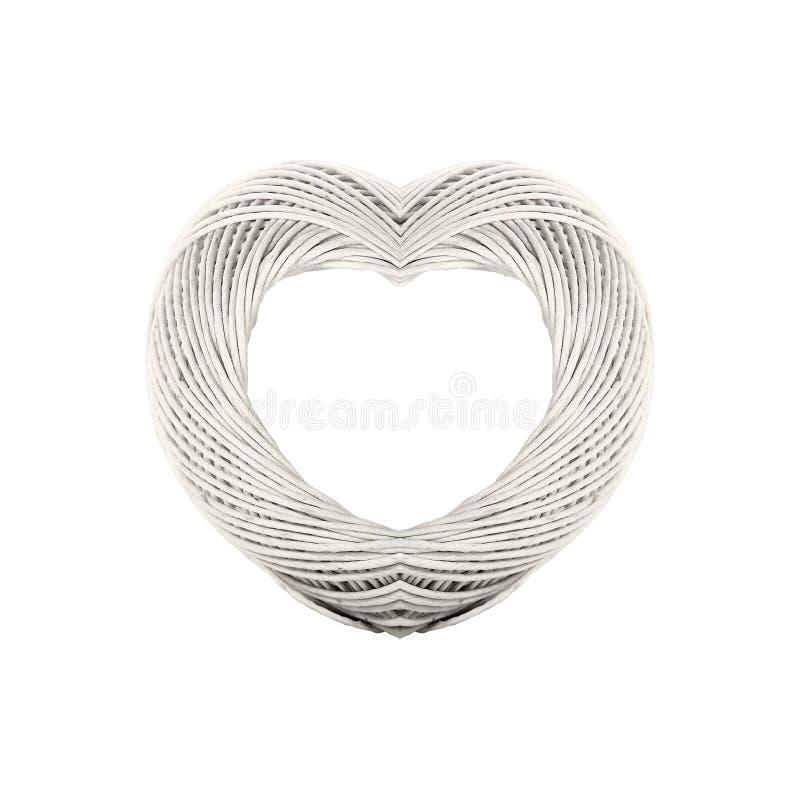 Corazón del rodillo de la guita imagenes de archivo
