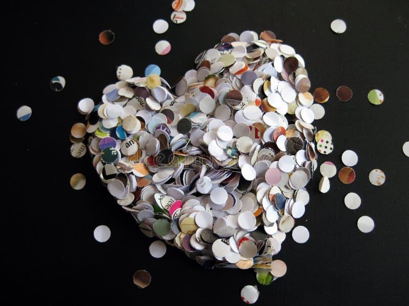 Corazón del sacador de agujero imagen de archivo libre de regalías