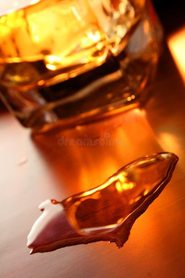 Corazón del whisky imagen de archivo
