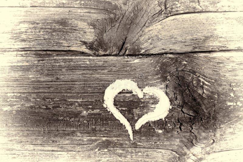Corazón dibujado foto de archivo libre de regalías