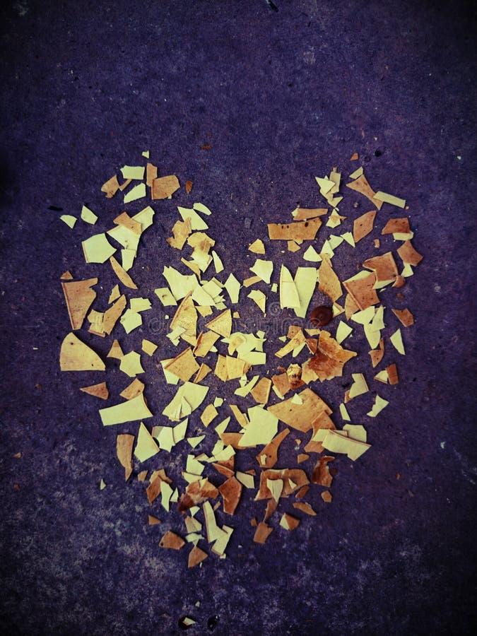 Corazón, extracto foto de archivo libre de regalías