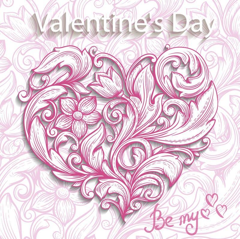 Corazón ornamental decorativo libre illustration