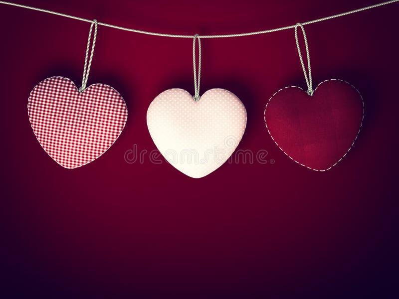 Corazón para el fondo del día de tarjetas del día de San Valentín foto de archivo