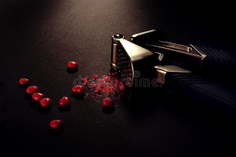 Corazón quebrado fotos de archivo