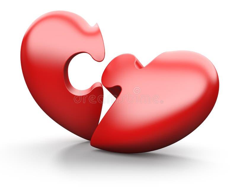 Corazón quebrado libre illustration