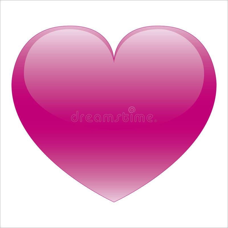 Corazón rosado