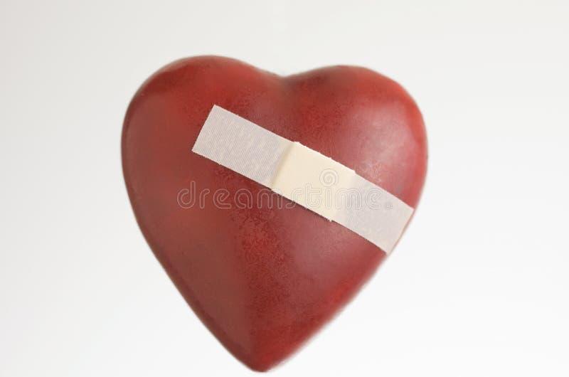 Corazón roto imágenes de archivo libres de regalías