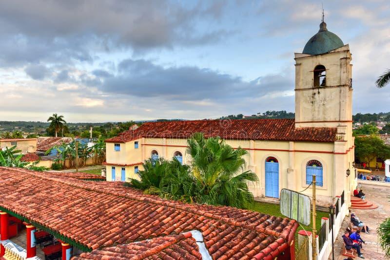 Corazón sagrado de Jesus Church - Vinales, Cuba fotografía de archivo libre de regalías