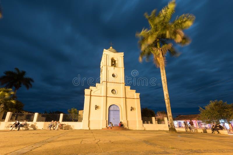 Corazón sagrado de Jesus Church - Vinales, Cuba imagen de archivo libre de regalías