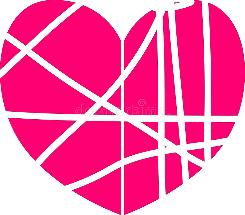 Corazón simple del vector libre illustration