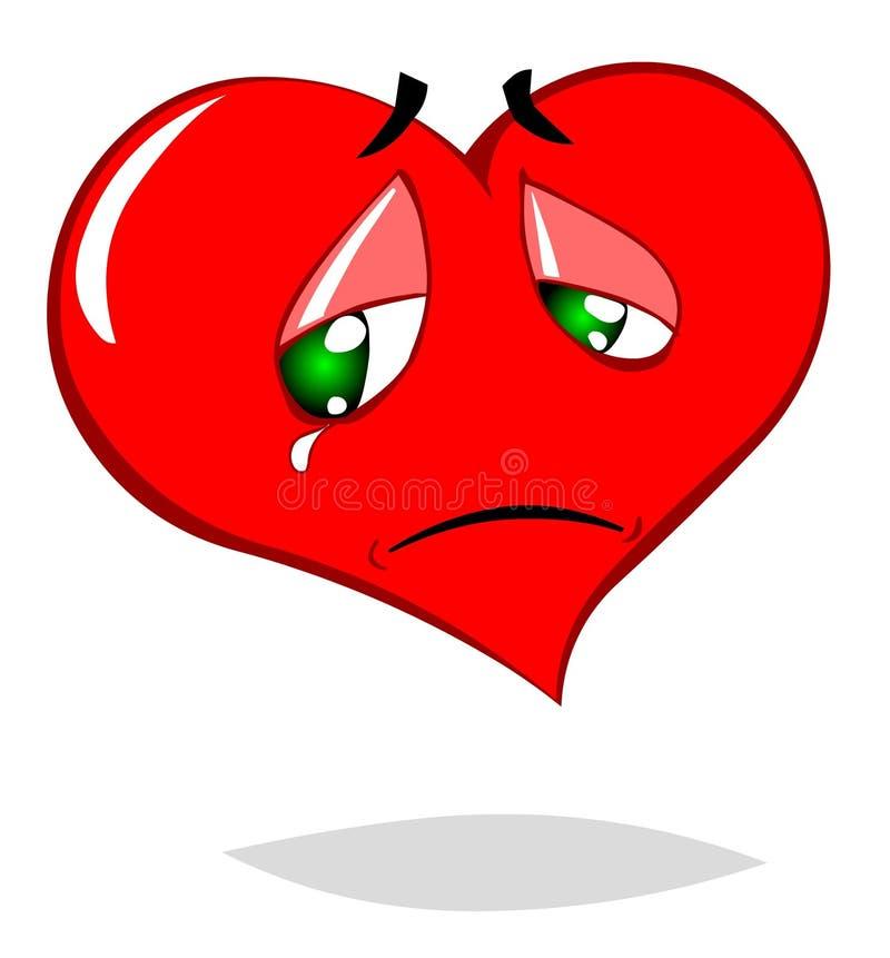Corazón triste libre illustration