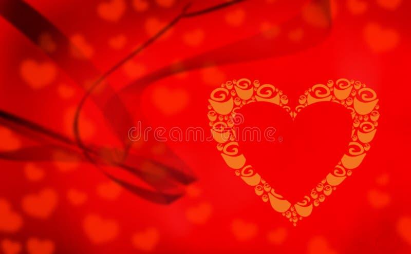 Corazón vacío imágenes de archivo libres de regalías
