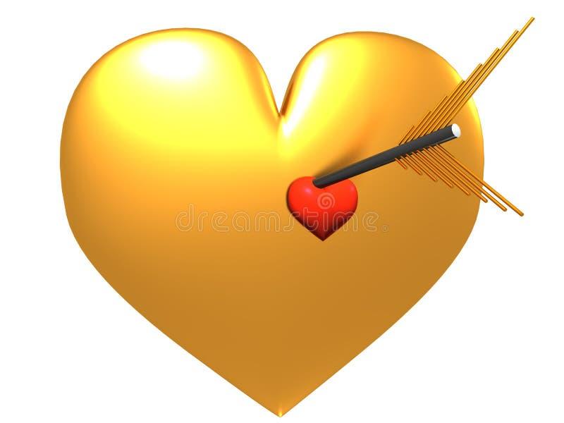 Corazón y flecha. libre illustration