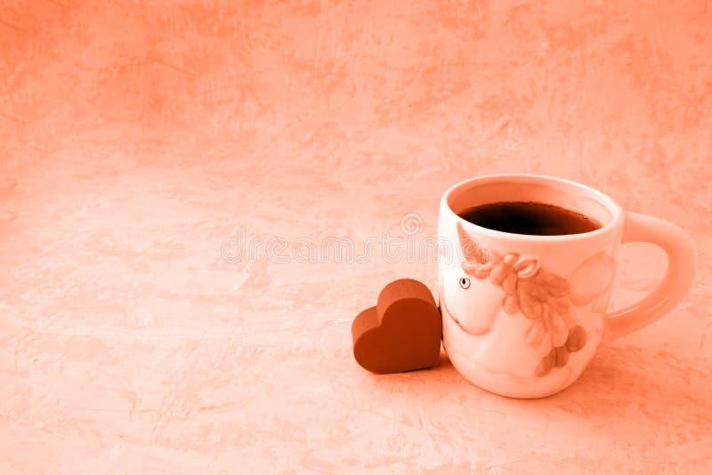 Corazón y té foto de archivo libre de regalías