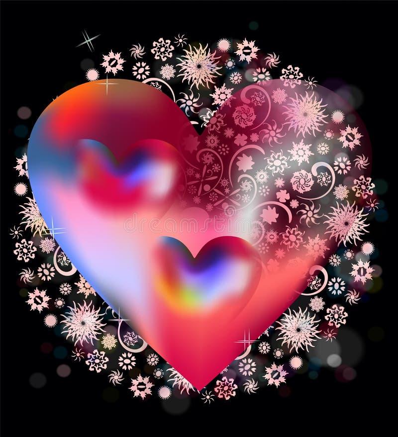 Corazón y unicidad libre illustration