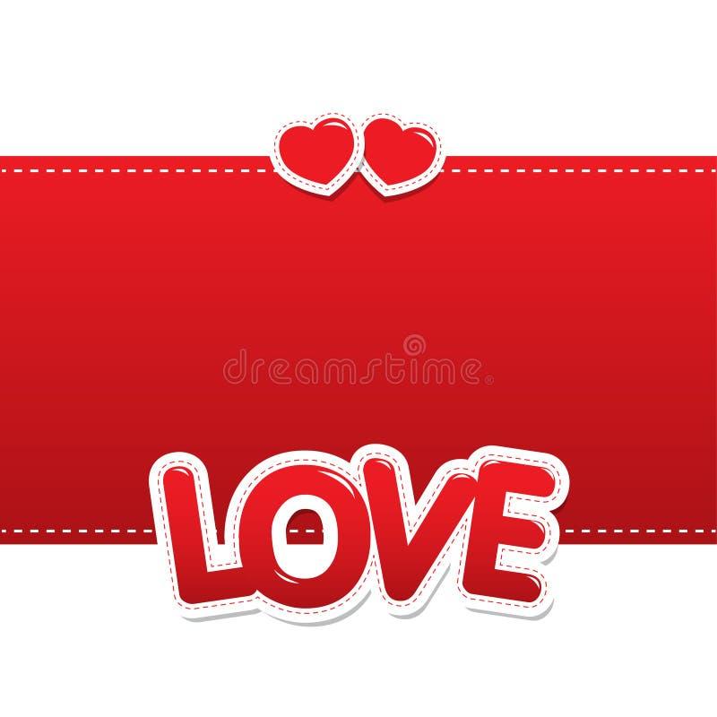 Corazones del amor en fondo fotos de archivo