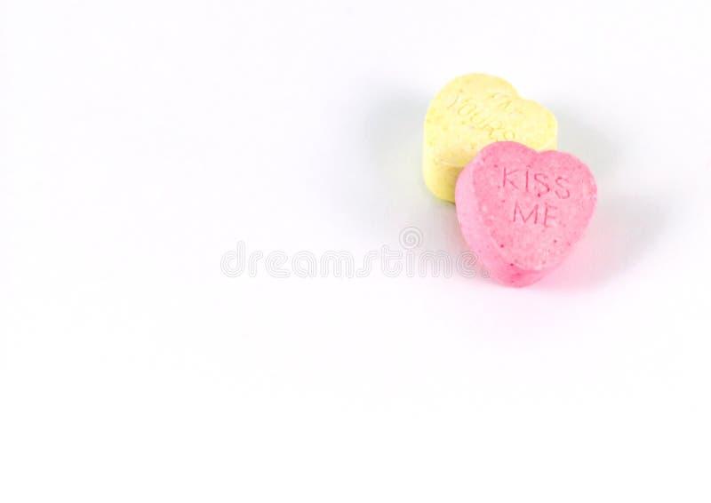 Corazones del caramelo imagen de archivo libre de regalías