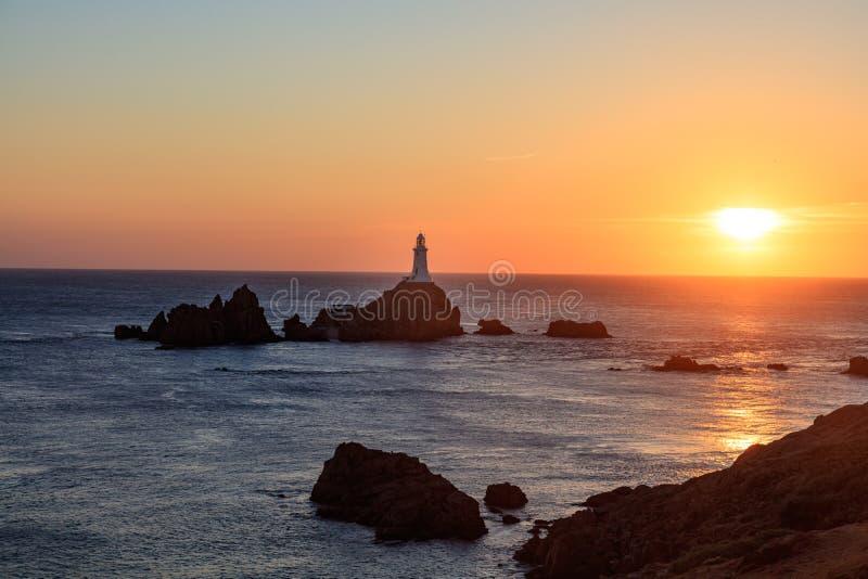 Corbière Lighthouse royalty free stock photos