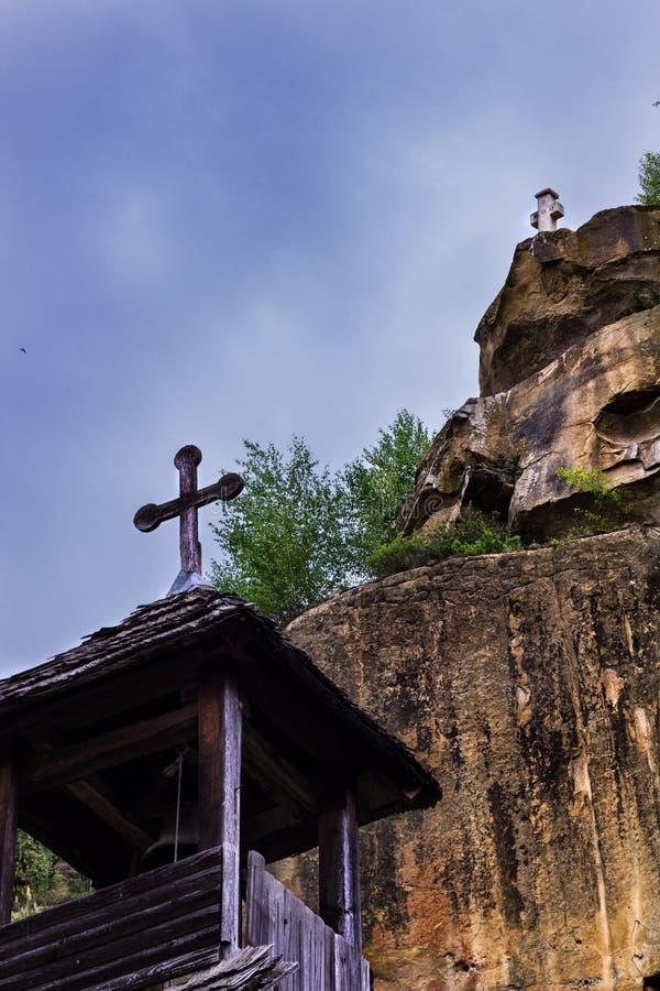 Corbi monaster obraz stock
