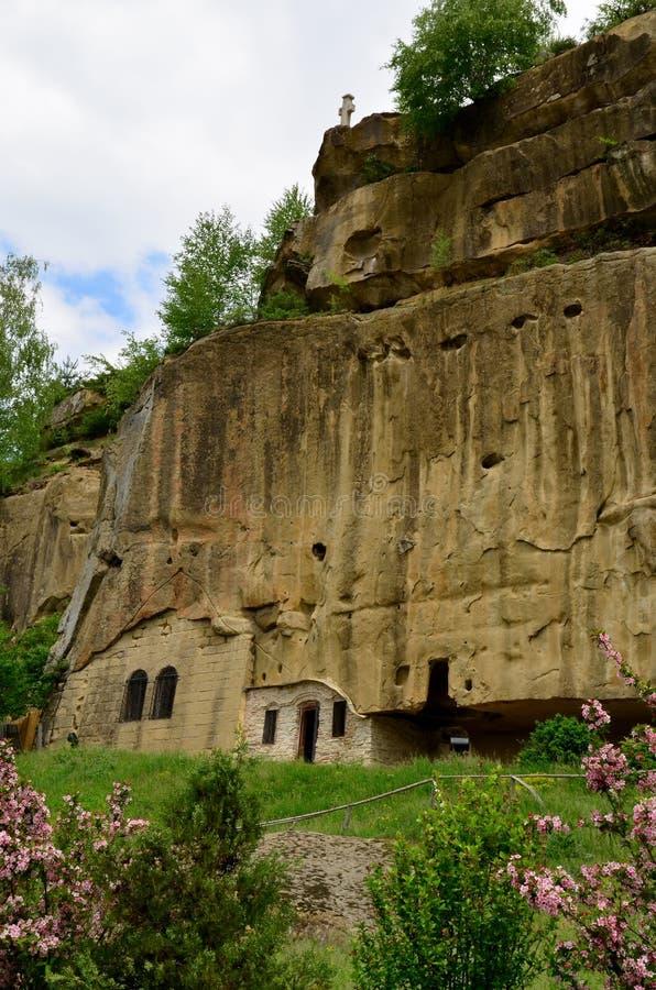 Travel Romania: Corbii Piatra Mountain Monastery royalty free stock photo