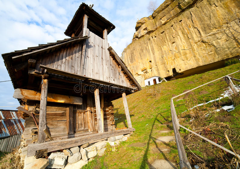 Corbii DE Piatra klooster royalty-vrije stock foto