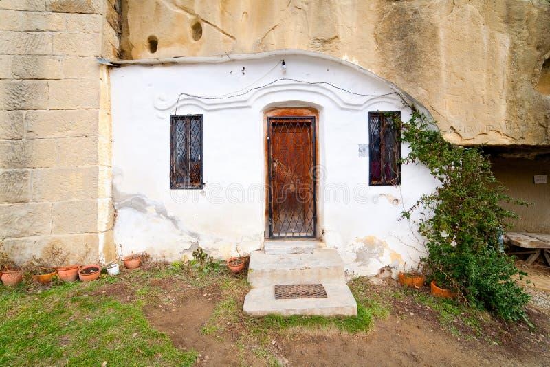 Corbii DE Piatra klooster royalty-vrije stock afbeelding