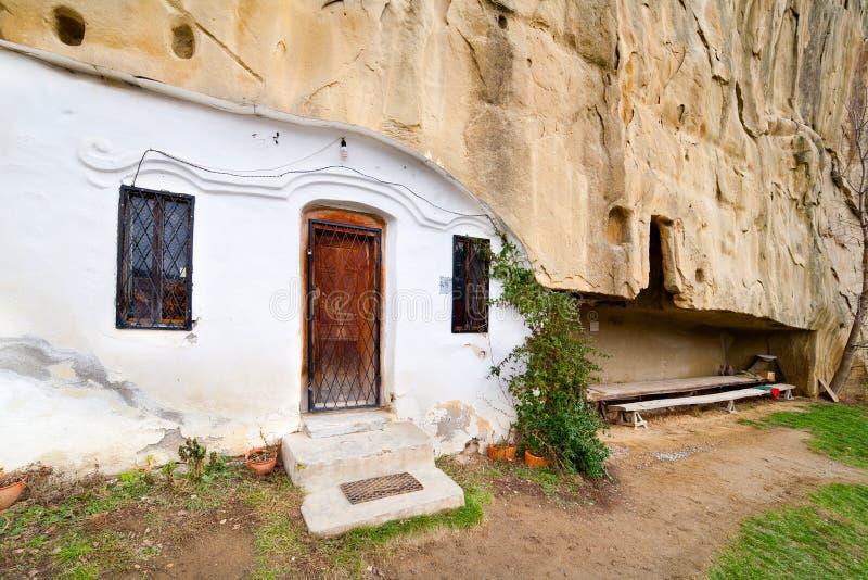 Corbii DE Piatra klooster stock foto