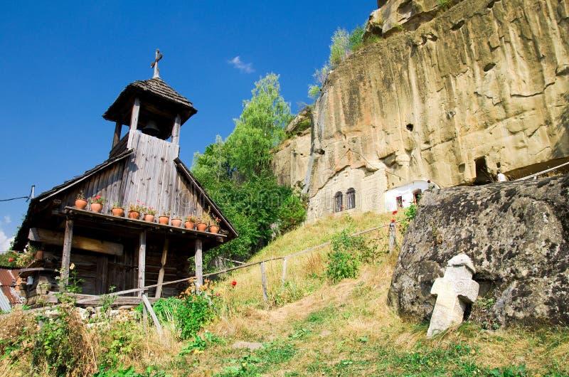 Corbii de Piatra Monastery immagine stock