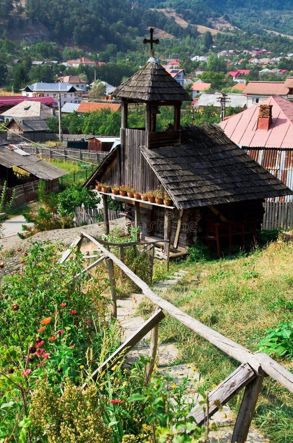 Corbii de Piatra Monastery fotografia stock libera da diritti